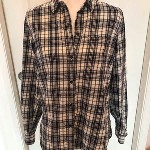 Madewell flannel button down